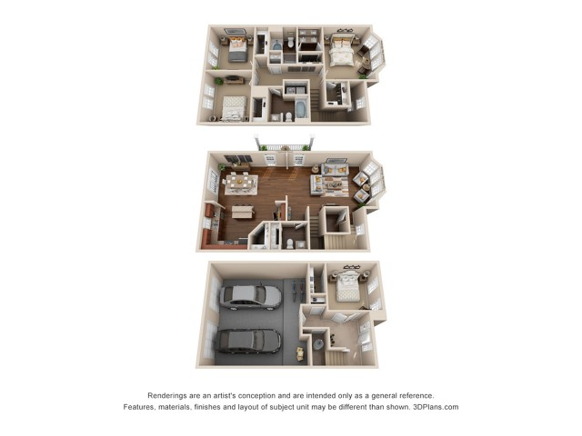 4 Bedroom 2 1/2 Bath Apartment Duluth GA