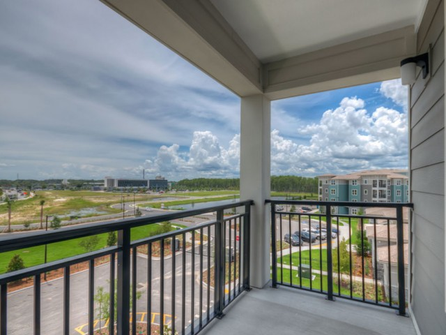 San Mateo Apartments Kissimmee Florida balcony