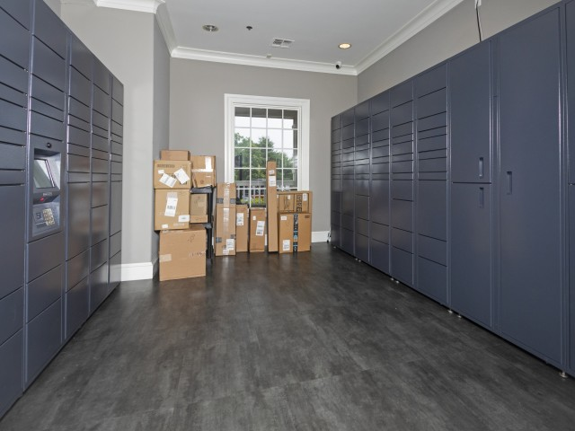 Image of 24/7 Parcel Lockers for Villas at Old Concord