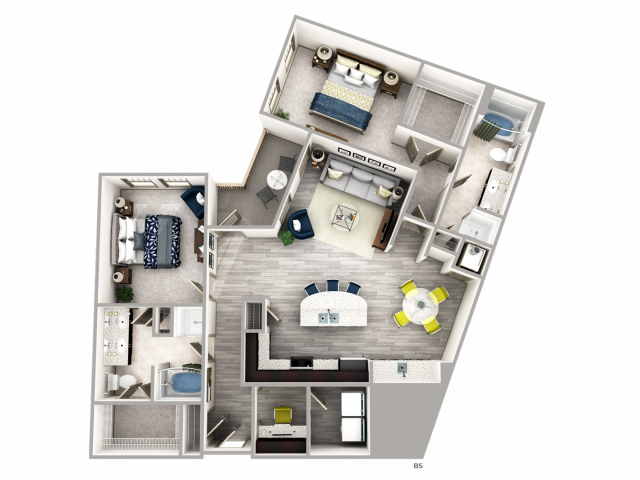 Two Bedroom Apartment in Buckhead