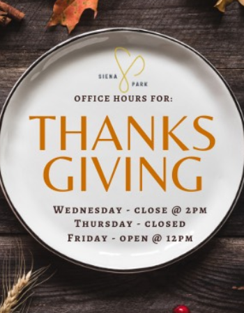 Thanksgiving Week Office Hours