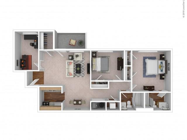 Buckingham - 2 Bedroom - 2 Bath - Optional Den