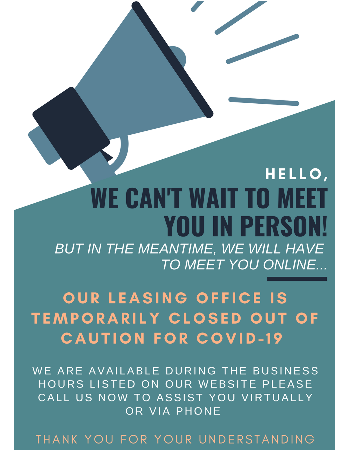 Meet Us on Line & Call Now! Our office is temporarily closed out of caution for COVID-19.  We are available during our posted business hours to assist you virtually or via phone.