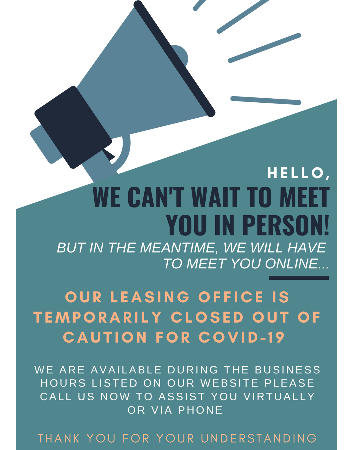 MEET US ONLINE or CALL NOW !  Our office is temporarily closed out of caution for COVID-19. WE ARE available during the business hours listed on our website to assist you virtually or via phone.