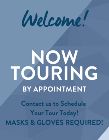 Now Touring By Appointment! Call Today! WE ARE available during the business hours listed on our website to set up your in person tour. We can't wait to MEET YOU IN PERSON!<br><br><br><br>