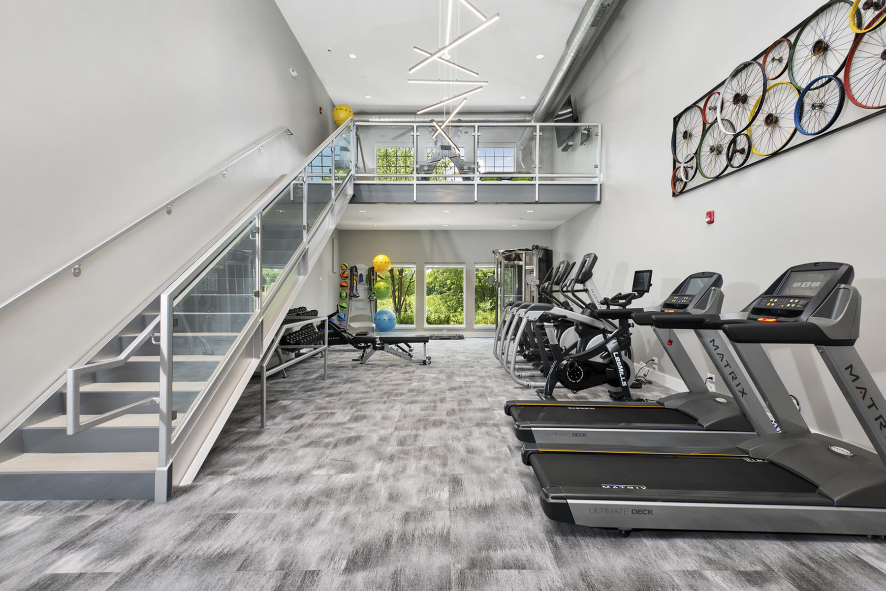 Brand New Two Story Health & Fitness Center