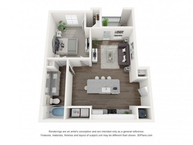 Reserve at Venice | 3D Ava Floor Plan