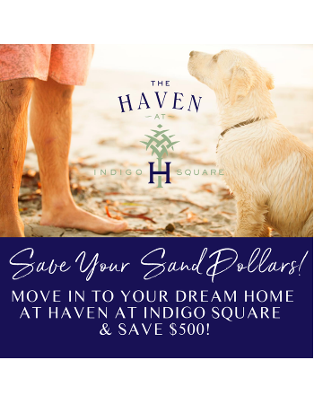 Your life in Haven! Call Haven at Indigo Square home to save $500!