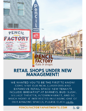 Learn More About Our Retail Space!