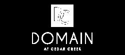 domain at cedar creek logo