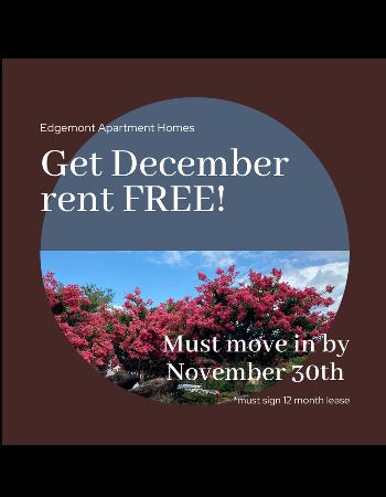 Get December FREE!