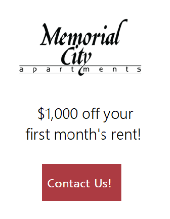 $1000 off your first month rent! Contact us for more details!