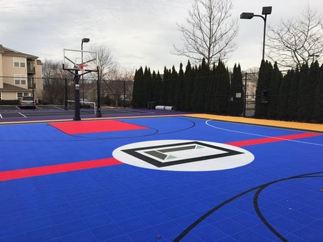 Sport Court with Playground