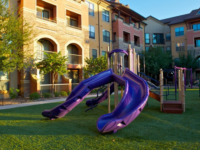 Outdoor Community Children\'s Playground | Apartments Rockwell TX | Rockwall Commons