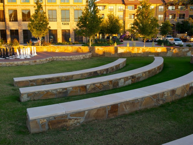 Community Outdoor Amphitheater | Apartments Rockwell TX | Rockwall Commons