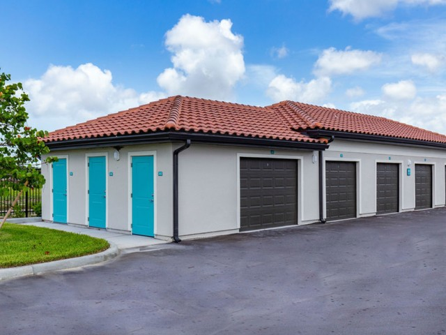 Treviso Grand Apartments - North Venice, Florida garages and storages