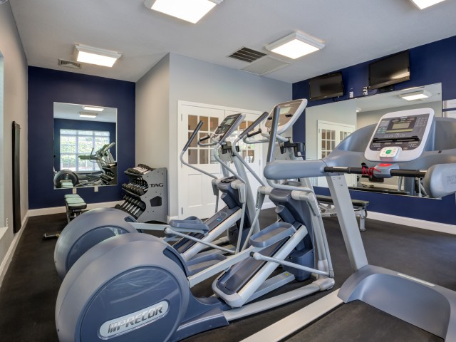 Cutting Edge Fitness Center | Apartments Homes for rent in Salem, MA | Hawthorne Commons