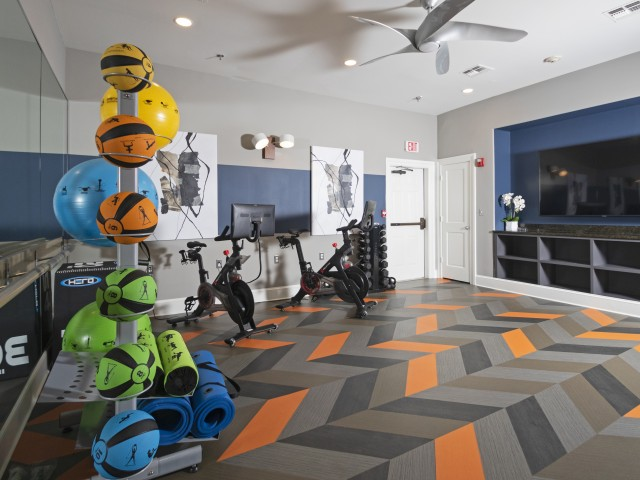 Image of Fitness on Demand with Peloton Studio for Villas at Old Concord