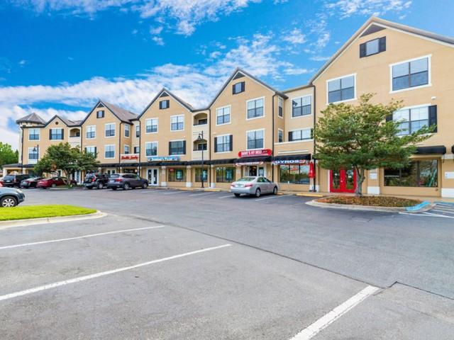 Park Lane Apartments in Gainesville on site retail village