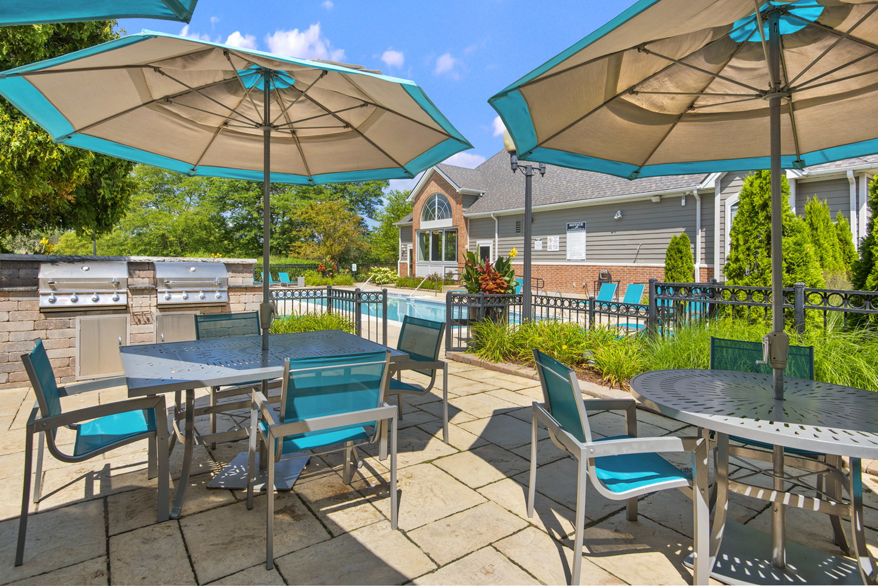 Sundeck and Outdoor Grilling Station