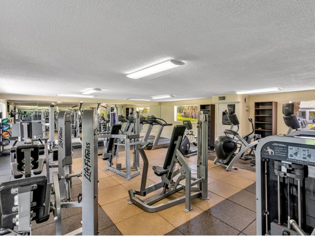 the dunes Indian harbour beach florida fitness center with weight and cardio equipment