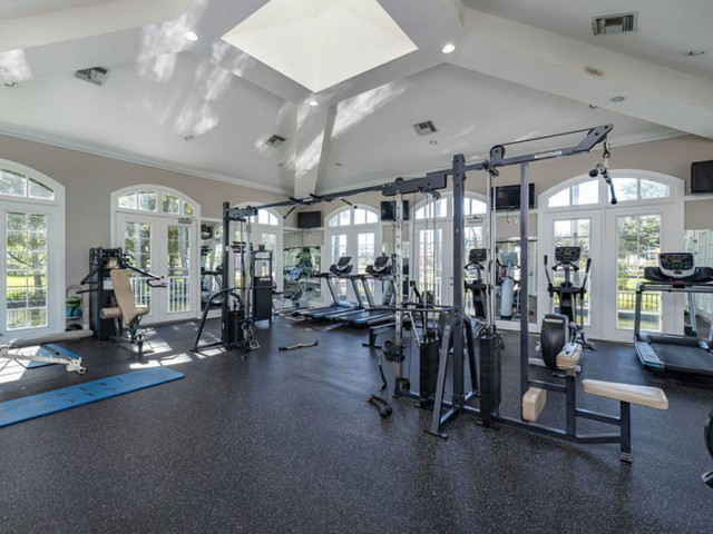 Crosswynde | Large Fitness Center with Weight and Cardio Machines