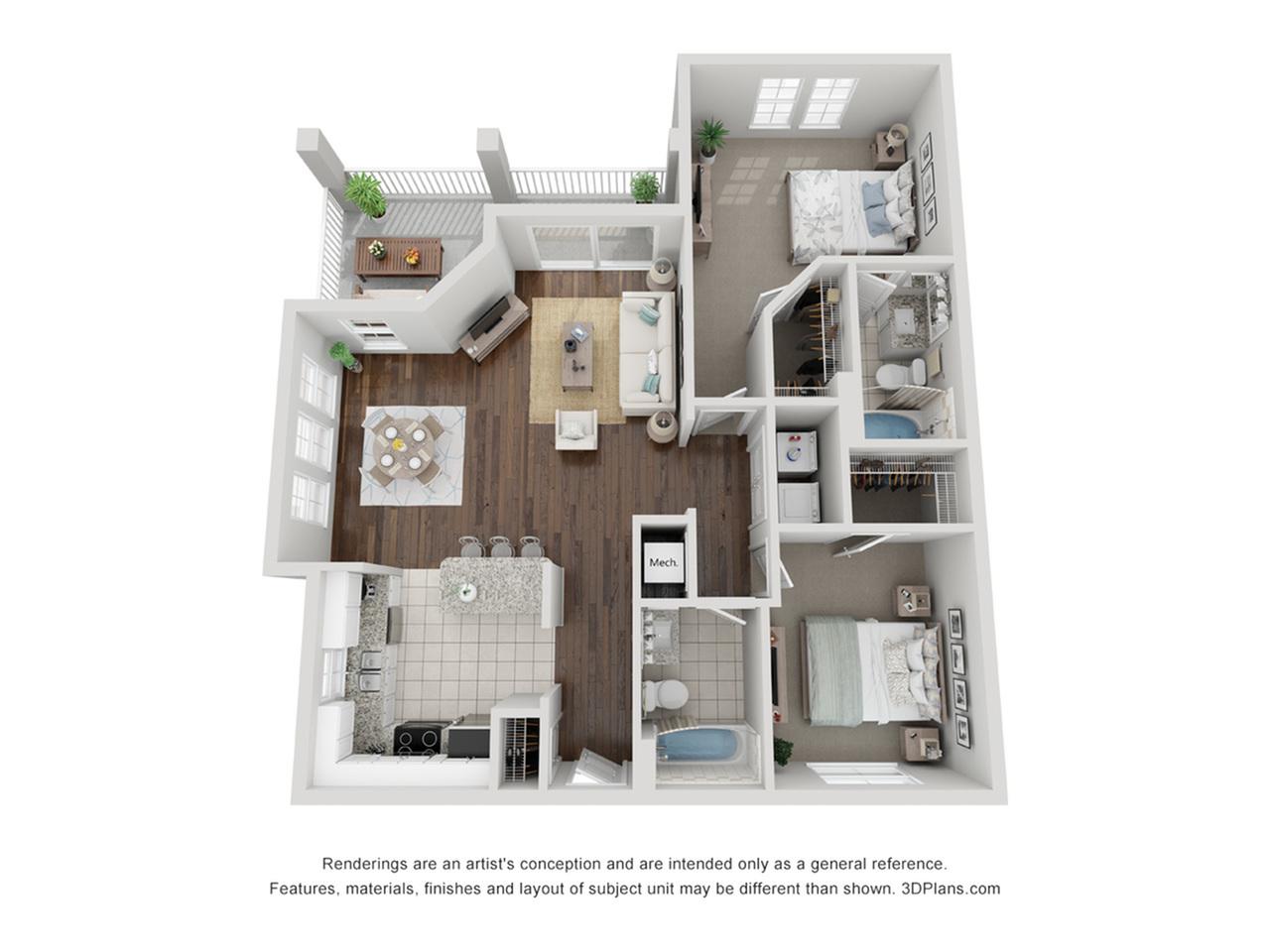 3D Upper Deck-B3