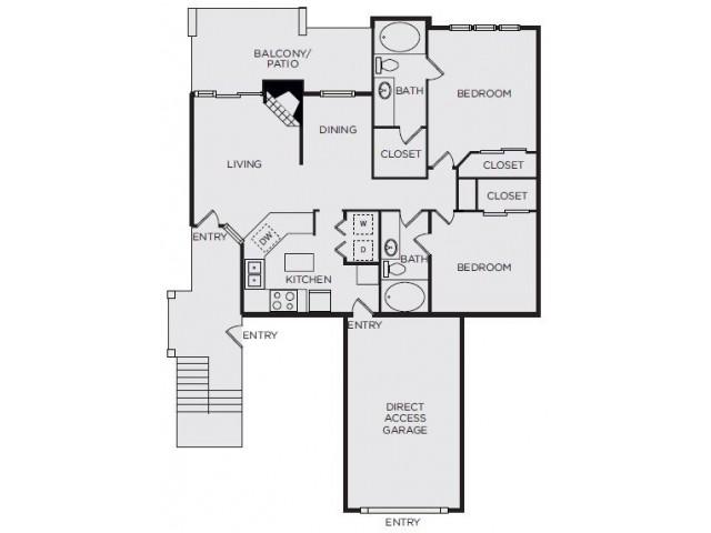 Courts B1 Floor Plan