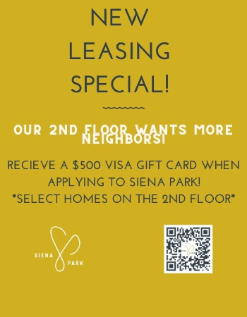 Current Leasing Specials!