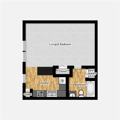 studio apartment home