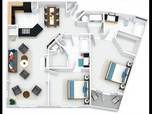 Abbey II Floor Plan