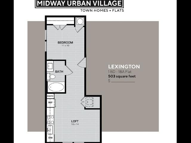 Studio Floorplan