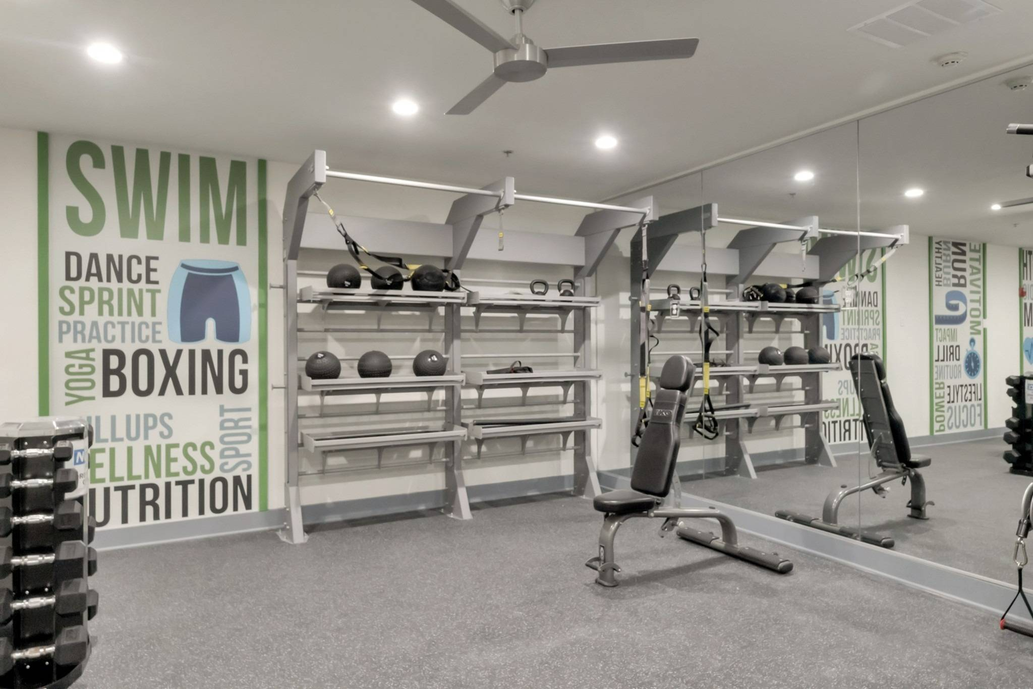 Part of Fitness Center