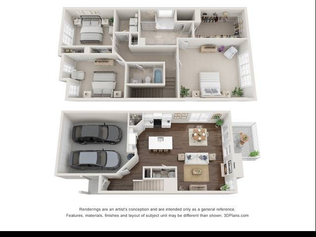 The Hamilton Floor Plan