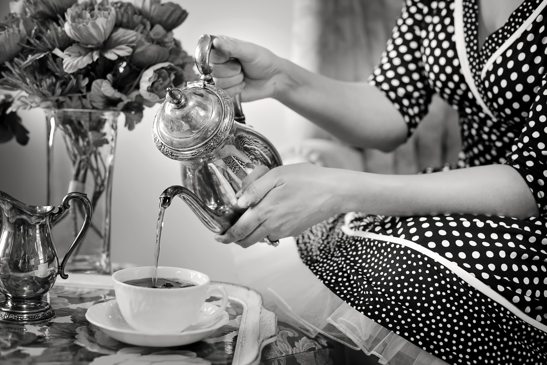 Enjoy a Cup of Tea at the Pink Bicycle Tea Room-image