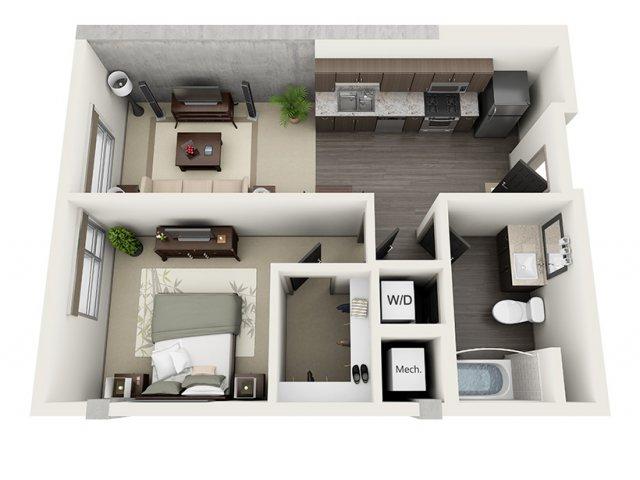 Studio 3 Bed Apartments 1600 VINE