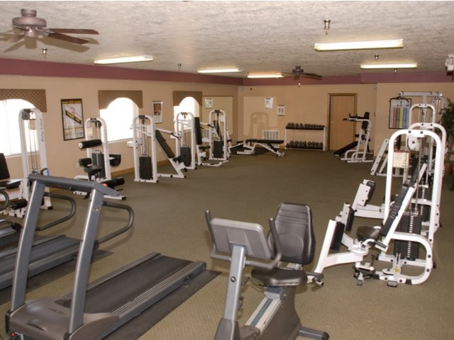Image of Fitness Center for Steeplechase Apartments