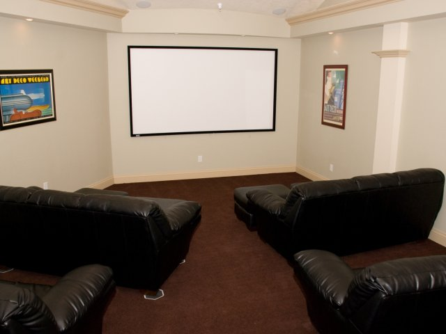 Image of Theater Room for Stonehedge Apartments