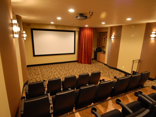 Image of Theater Room for Steeplechase Apartments