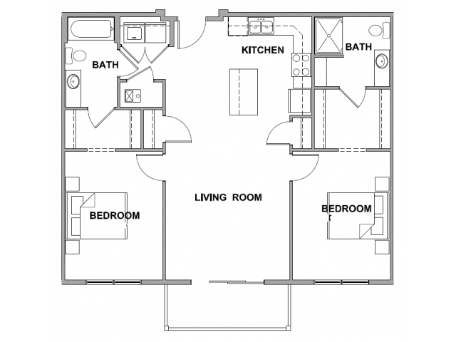 2 Bed 2 Bath Apartment In Sioux Falls Sd Spring Creek Luxury Living