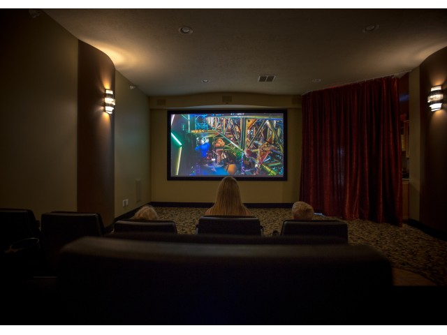 Image of Theater Room for Foxmoor Apartments