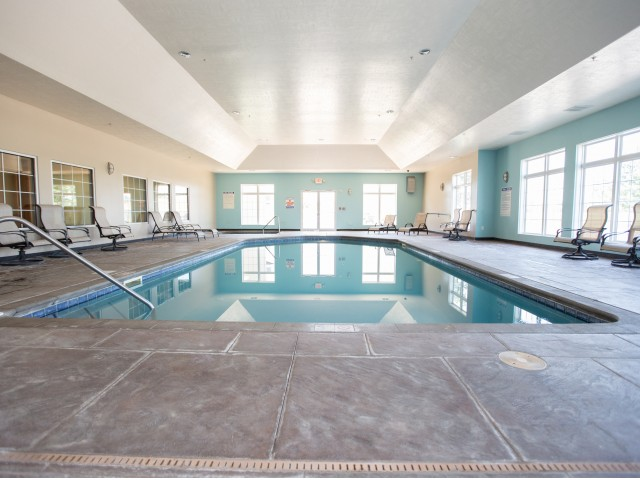 Image of Indoor Pool for Steeplechase Apartments