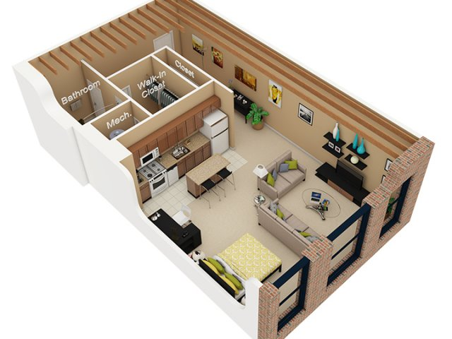 Cobbler Square Loft Apartments Idea