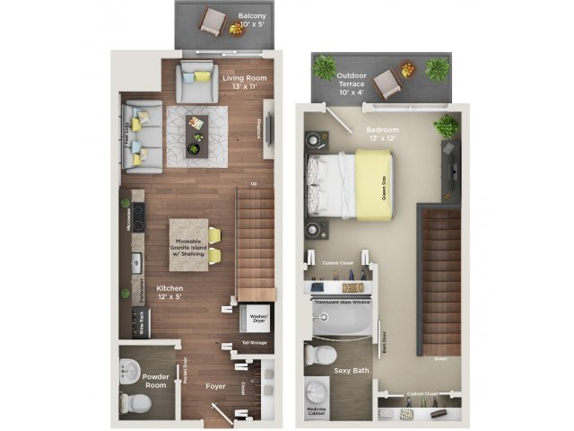 One Bedroom One Bath - Room Image and Wallper 2017
