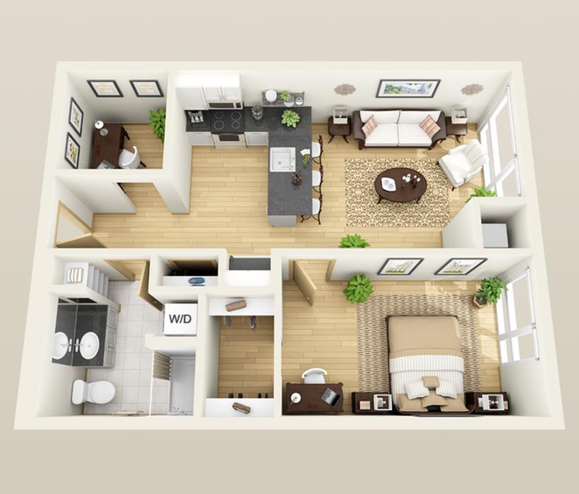 Floor plan Superior Plus Den