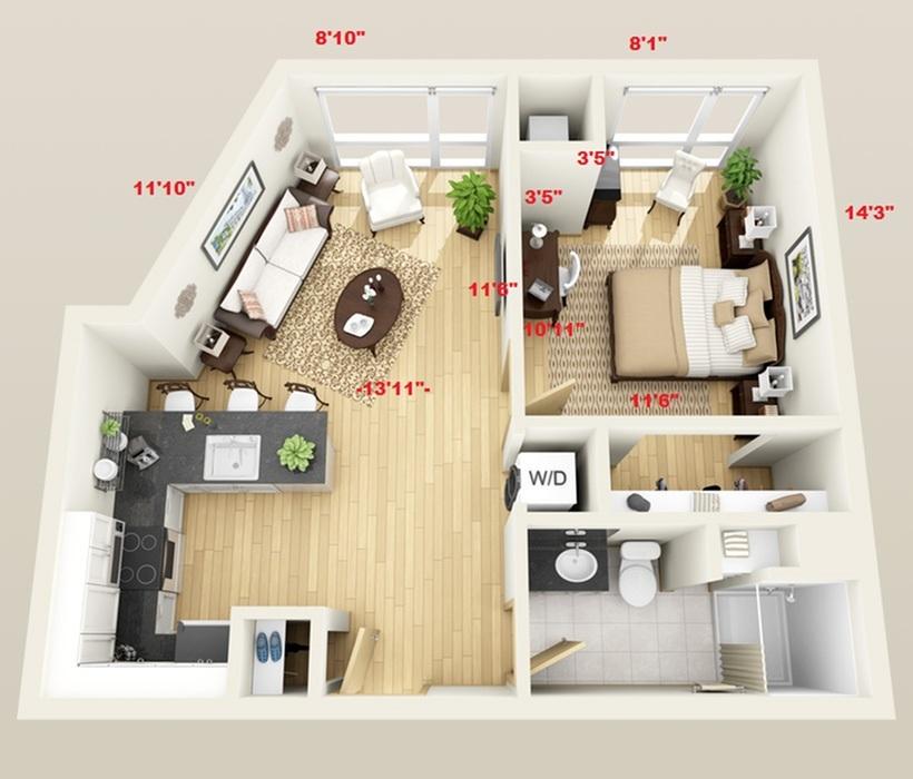 floor plan pacific