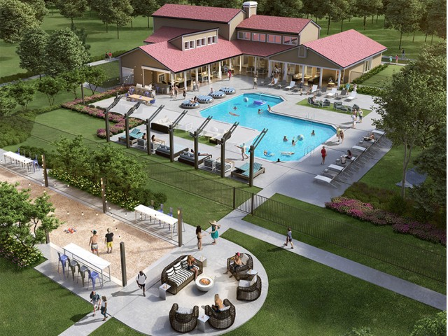 Image of Two Resort-style Swimming Pools for Grandview Apartments by Albion