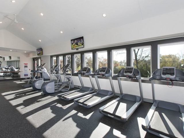 Image of State of the Art Fitness Studio for Westmont Village Apartments