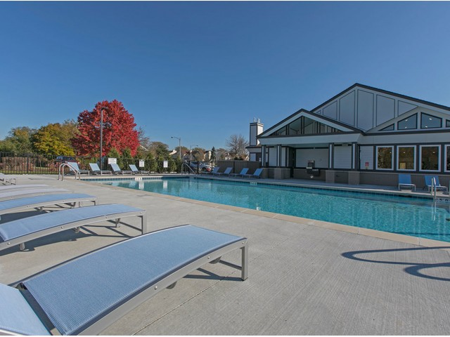 Image of Brand New Outdoor Heated Pool for Westmont Village Apartments