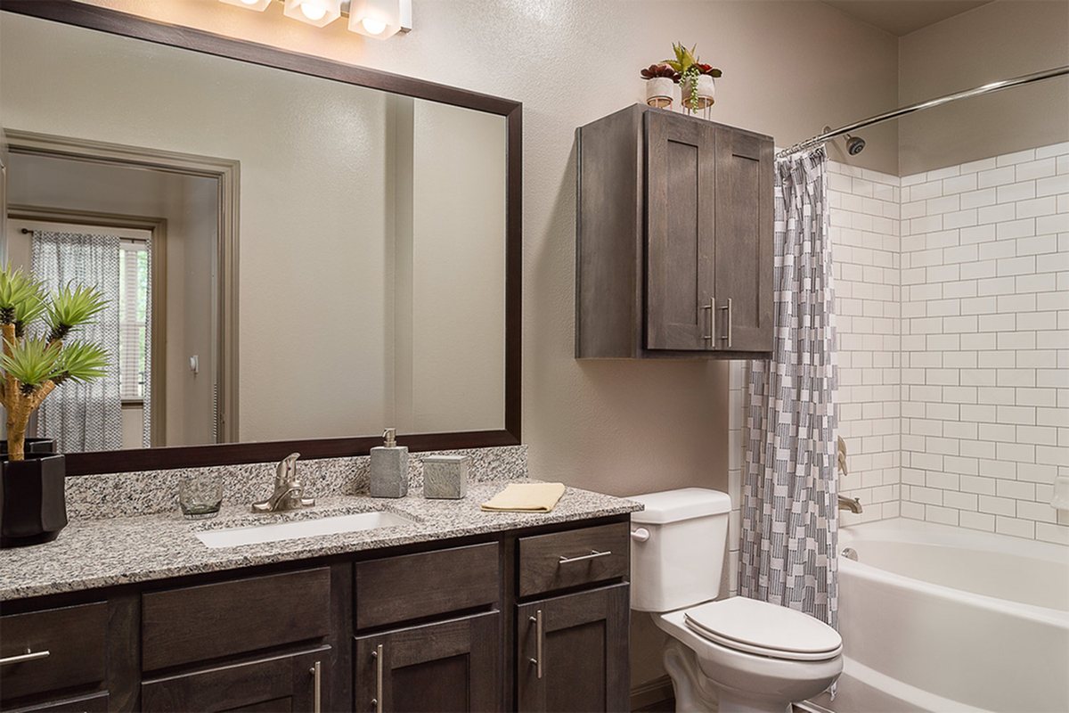 Boterra Bay - Luxury Apartments for Rent in Baytown, TX - apartment bathroom